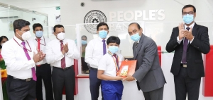 People's Bank Seeduwa Branch moves to new premises