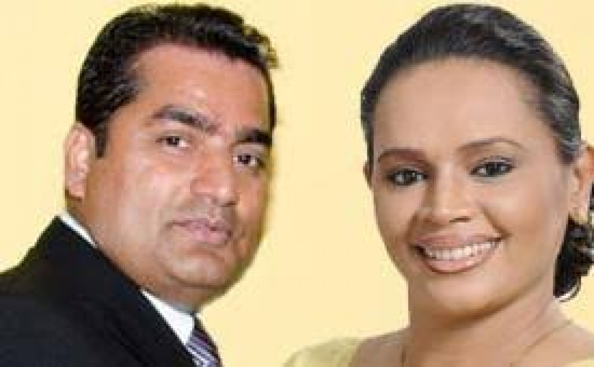 Crossover MP Diana Gamage And Her Partner Instrumental In Obtaining Presidential Pardon For Uvatanne Sumana Thera